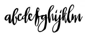 Queen Regular Font LOWERCASE