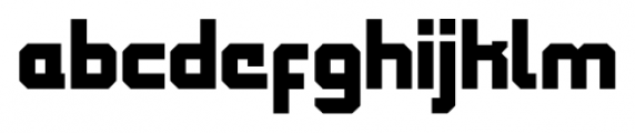 QueueBrick Closed Black Font LOWERCASE