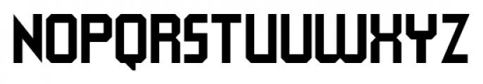 QueueBrick Closed Bold Font UPPERCASE