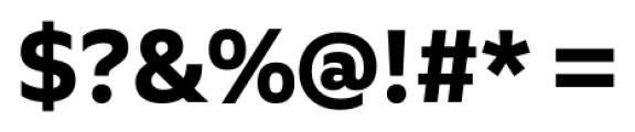 Quiet Sans Bold Font OTHER CHARS
