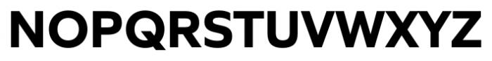 Quiet Sans Bold Font UPPERCASE