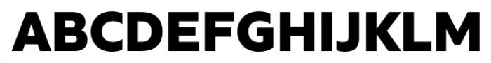 Quiet Sans Extra Bold Font UPPERCASE