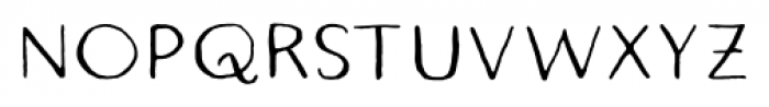 Quimbly Regular Font UPPERCASE