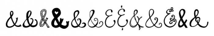 Quirky Sands Regular Font LOWERCASE
