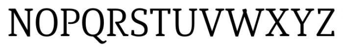 Quiroga Serif Pro Regular Font UPPERCASE
