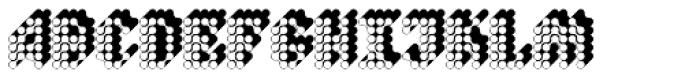 Quad Polyphony Font LOWERCASE