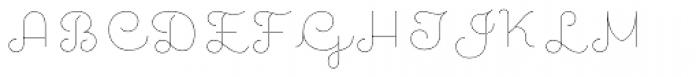 Quaderno Noodle 5 Font UPPERCASE