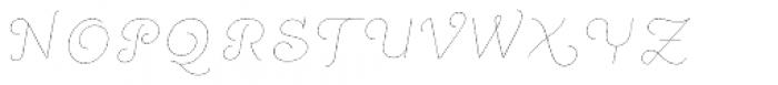 Quaderno Slanted 2 Font UPPERCASE