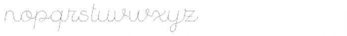 Quaderno Slanted 2 Font LOWERCASE