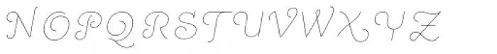 Quaderno Slanted 4 Font UPPERCASE