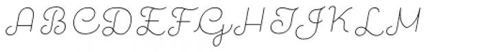 Quaderno Slanted 7 Font UPPERCASE