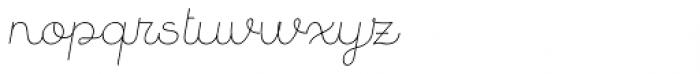 Quaderno Slanted 7 Font LOWERCASE