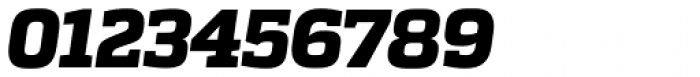 Quadon UltraBold Italic Font OTHER CHARS