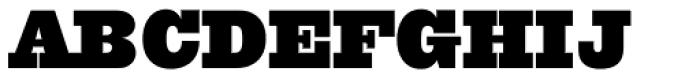 Quadra Five Seven BQ Font UPPERCASE