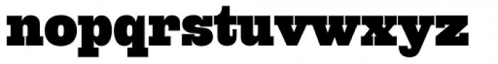 Quadra Five Seven BQ Font LOWERCASE