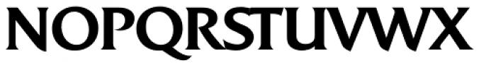 Quadrat Serial Medium Font UPPERCASE