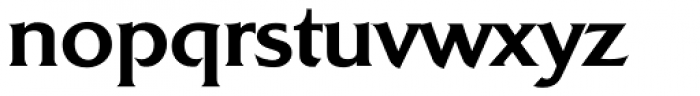 Quadrat Serial Medium Font LOWERCASE