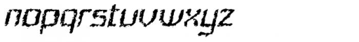 Quadrat Ugly Italic Font LOWERCASE