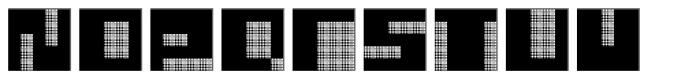 Quadre N3 Font UPPERCASE