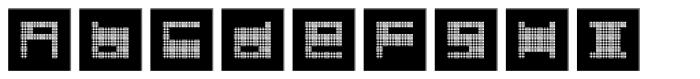Quadre N3 Font LOWERCASE