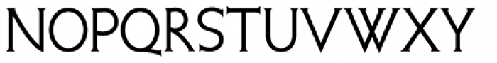 Quadrivium NF Font UPPERCASE