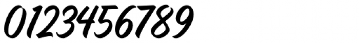 Quadrone Script Font OTHER CHARS