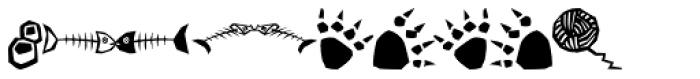 Quadru Pets EF Cats Font OTHER CHARS