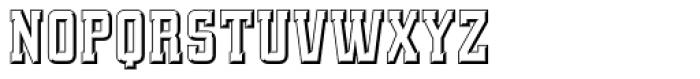 Quadrus Font UPPERCASE