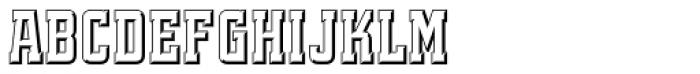 Quadrus Font LOWERCASE
