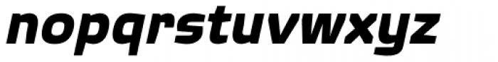 Quagmire Bold Italic Font LOWERCASE