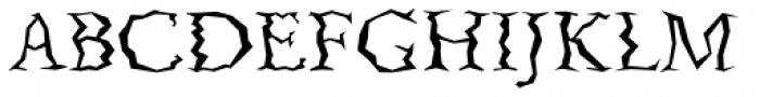 Quake Std Font UPPERCASE
