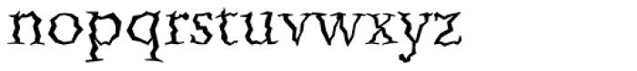 Quake Std Font LOWERCASE