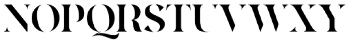 Quakiez Display Font UPPERCASE