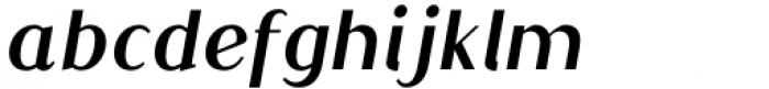 Qualettee Bold Italic Font LOWERCASE