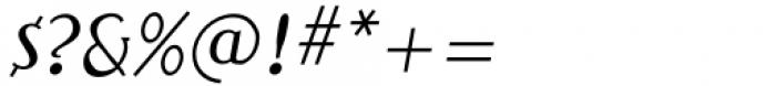 Qualettee Medium Italic Font OTHER CHARS