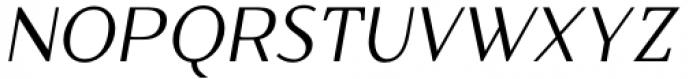 Qualettee Medium Italic Font UPPERCASE