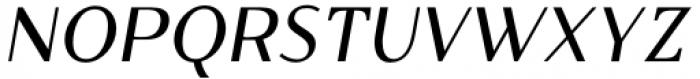 Qualettee Semi Bold Italic Font UPPERCASE