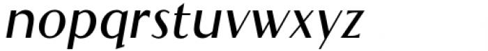 Qualettee Semi Bold Italic Font LOWERCASE
