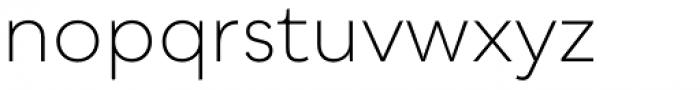 Qualion Light Font LOWERCASE
