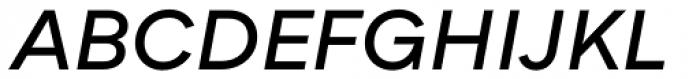 Qualion Oblique Demi Bold Font UPPERCASE