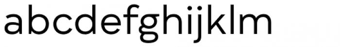 Qualion Regular Font LOWERCASE