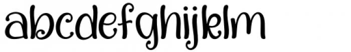 Quality Capcay Black Light Regular Font LOWERCASE