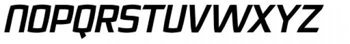 Quam Black Italic Font UPPERCASE