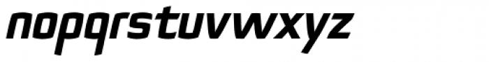 Quam Black Italic Font LOWERCASE