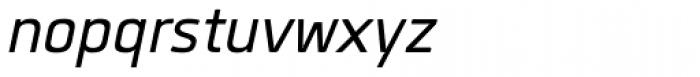 Quan Italic Font LOWERCASE