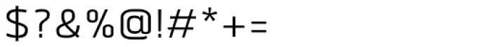 Quan SemiLight Font OTHER CHARS