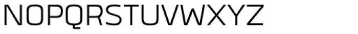 Quan SemiLight Font UPPERCASE