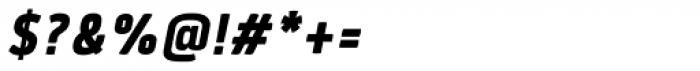 Quan Slim ExtraBold Italic Font OTHER CHARS