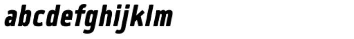 Quan Slim ExtraBold Italic Font LOWERCASE