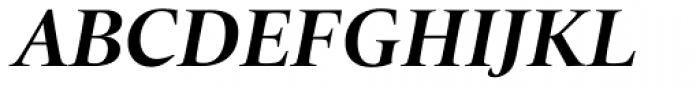 Quant Bold Italic Font UPPERCASE